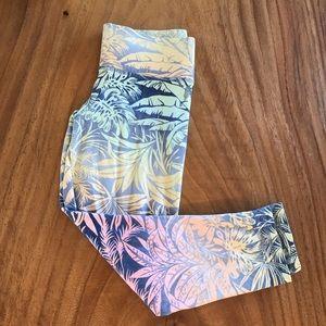 Victoria's Secret Pastel Palm Leggings!